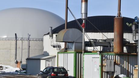 Betreiber von Biogasanlagen beklagen mangelnde politische Unterstützung. Unser Bild zeigt eine Anlage bei Hawangen.