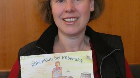 """Für jedes verkaufte Bilderbuch """"Rübenklau bei Rübendick"""" will die Kinderbuchautorin Christine Pappenberger für die Don Bosco Mission fünf Euro spenden."""