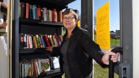 Vor drei Jahren öffnete sie die Tür zur Bücherinsel in Adelsried. Jetzt schließt Erna Stegherr-Haußmann die Tür des Rathauses hinter sich.