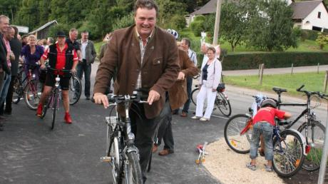Michael Müller gibt sein Amt als Rathauschef in Emersacker ab. Nun will er sich seinen Hobbys widmen.