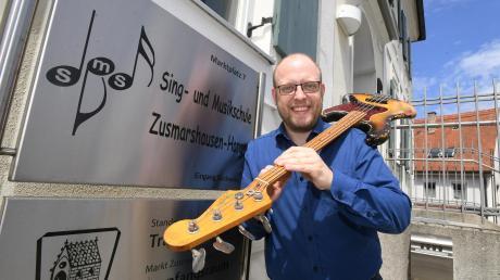 Dominik Lehmeier hat die Musikschule Zusmarshausen-Horgau seit 2018 geleitet.