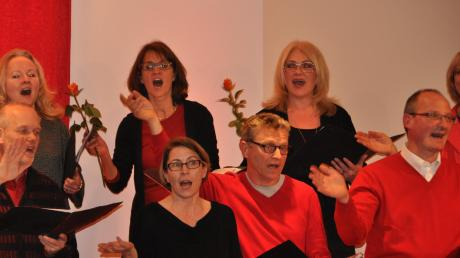 Mitglieder des Chors Andiamo haben gespendet.