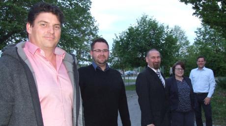 Dem 16-köpfigen Marktgemeinderat in Fischach gehören fünf neue Mitglieder an: (von links) Udo Ziegelmeier, Andreas Thoma, Michael Bob, Simone Linke und Roland Wendler.