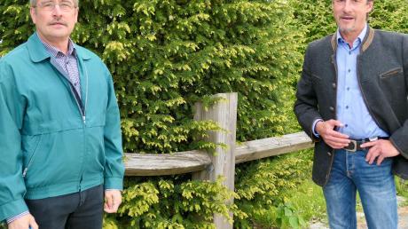 Zu Stellvertretern von Bürgermeister Wolfgang Jarasch wurden Klaus Gerstmayr (rechts) und Leonhard Würz (beide CSU) gewählt.