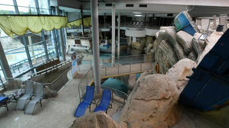 Der Strom- und Gasverbrauch im Freizeitbad Titania ist höher als der in allen anderen Liegenschaften der Stadt Neusäß zusammengenommen.