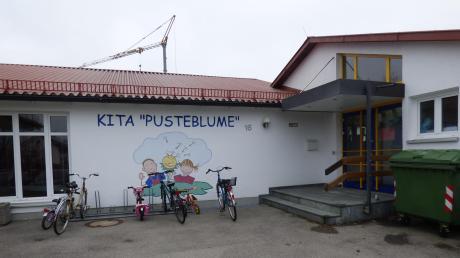 """Der Kindergarten """"Pusteblume"""" in Gessertshausen wurde vor mehr als 40 Jahren in den ehemaligen Räumen der Grundschule eingerichtet."""
