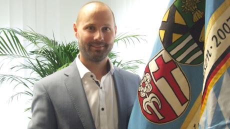 Das Miteinander von Verwaltung, Bürger, Gewerbetreibenden und Vereinen liegt Kutzenhausens neuem Bürgermeister Andreas Weißenbrunner am Herzen.