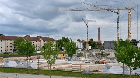Anlass der aktuellen Unzufriedenheit Stadtbergens ist der Bebauungsplan für das Sheridan-Gelände. Streitpunkt ist unter anderem der Lärmschutz.