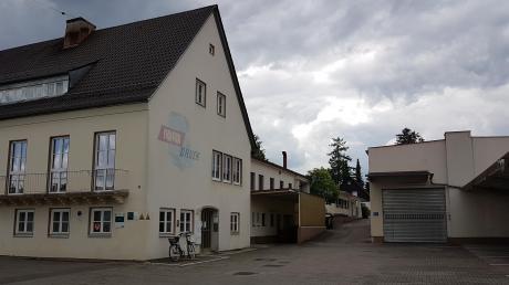 Auf dem Areal der Firma Rota-Druck in Steppach sollen hauptsächlich Doppelhäuser entstehen.