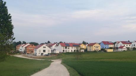 Der aktuelle Flächennutzungsplan für Stadtbergen weist Neubauflächen von 24 Hektar aus. Im Bild dasBaugebiet Deuringen-Nord vor drei Jahren.