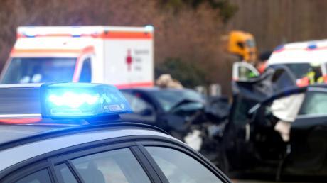 Ein herrenloser Hund hat am Mittwoch auf der B2 einen Unfall mit mehreren Fahrzeugen und vier Leichtverletzten verursacht.