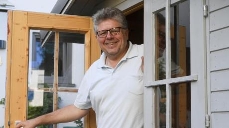 Wolfgang Krell in Diedorf koordiniert seit einem Vierteljahrhundert ehrenamtliche Arbeit.