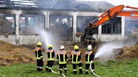 Für Aufsehen hatte damals der Brand einer Lagerhalle außerhalb von Gessertshausen gesorgt. Es handelte sich um das Lager für den Futtervorrat der Tierklinik für ein ganzes Jahr.
