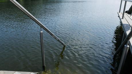 Im Rothsee sollen nicht mehr länger Schlamm und Sand landen.