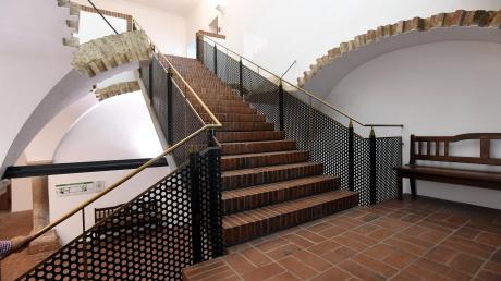 Der Eingangsbereich zum Thierhaupter Klostersaal soll neu gestaltet werden.