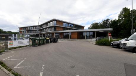 Der Buswendeplatz an der neuen Mittelschule Gersthofen wird demnächst umgebaut.