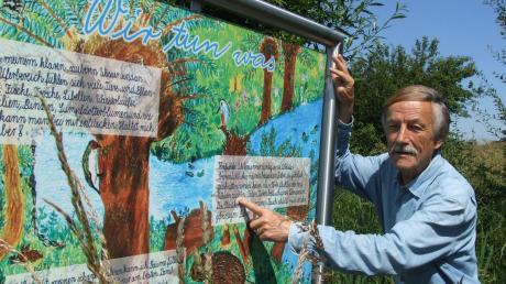 Horst Kaisers Herz schlägt für den Branntweinbach. Akribisch beobachtet er dort Tier- und Pflanzenwelt.