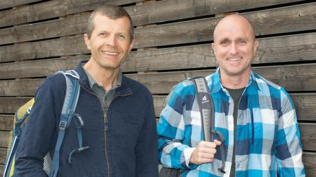 Robert Schieferle (links) ist der neue alleinige Geschäftsführer der Gersthofer Deuter Sport GmbH. Er löst Martin Riebel ab.