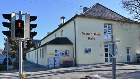 Die anstehende Sanierung der Oswald-Merk-Halle stellt die DJK Leitershofen vor Herausforderungen.