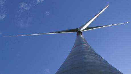 Im Wald bei Dinkelscherben plant ein Investor einen neuen Windpark.