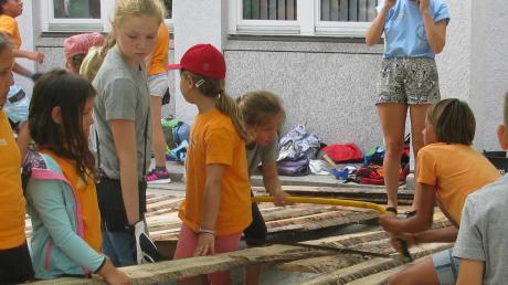 Das Stadtbauspiel (auf diesem Bild in Gersthofen) gehört zu den ganz beliebten Punkten im Ferienprogramm. In Biberbach ist für diesen August ein ganz besonderes geplant.