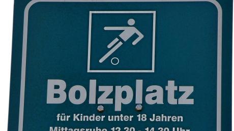 Mit dem Bolzplatz befasste sich der Gemeinderat Horgau.