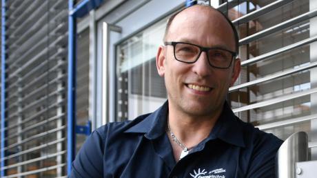 Benedikt Kratzer bildet in seinem Betrieb trotz Corona-Krise weiterhin aus. In diesem September starten sogar zwei Auszubildende.