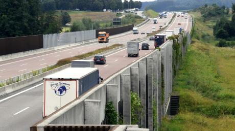 Der Lärmschutz an der Autobahn bei Hirblingen bringt den Anwohnern nur wenig.