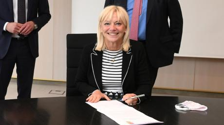 Carolina Trautner ist seit knapp neun Monaten Ministerin.