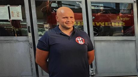 Der neue Kommandant der Freiwilligen Feuerwehr Emersacker, Christian Wörz.