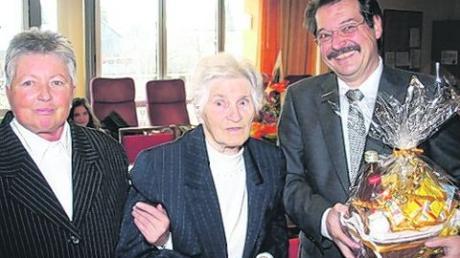 Auguste Noack wurde 90 Jahre alt