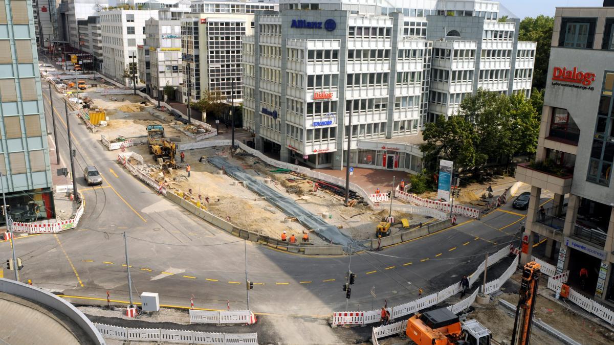 Augsburg Baustellen
