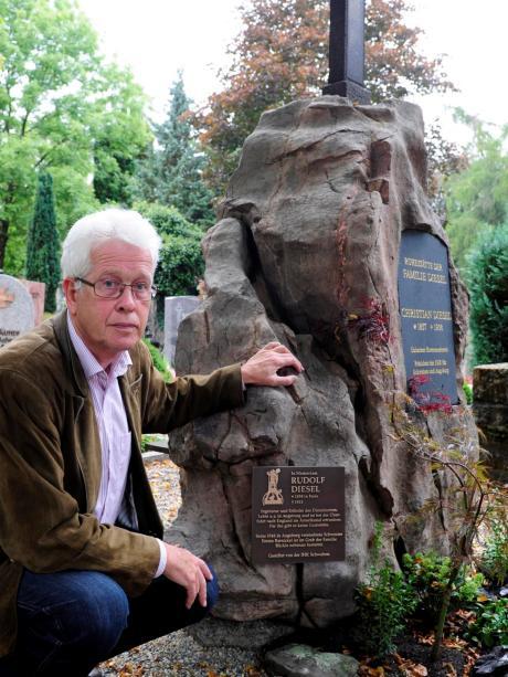 Grab in Augsburg: Vor 100 Jahren starb Rudolf Diesel unter tragischen  Umständen | Augsburger Allgemeine