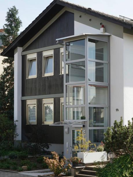 Sehr Wohnen: Der Aufzug fürs Einfamilienhaus - Lokales (Augsburg DM99