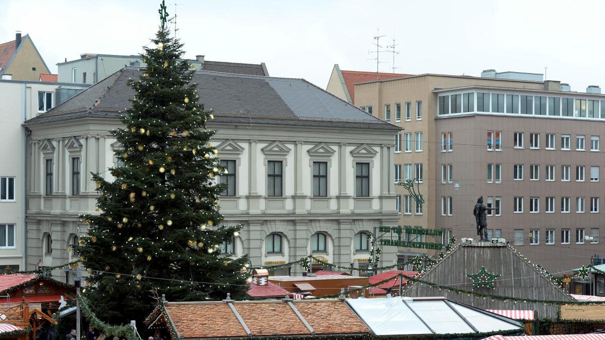 region augsburg wo steht der sch nste christbaum stimmen. Black Bedroom Furniture Sets. Home Design Ideas