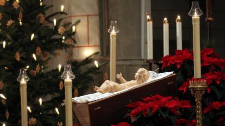 An Weihnachten wird es in den Augsburger Kirchen besonders festlich.