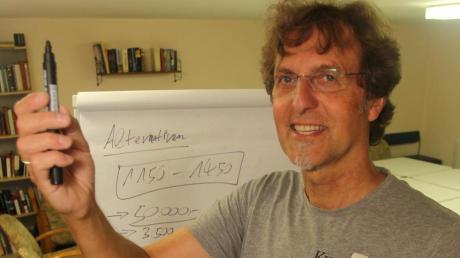 Seit dreieinhalb Jahren bringt Peter Biet in der Keller-Uni im Herrenbach Suchende und Fragende zusammen.
