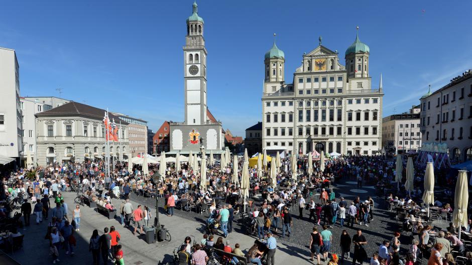 preisreduziert achten Sie auf Rabatt zum Verkauf Augsburg: Sonnenschein und gute Laune: So erlebte Augsburg ...