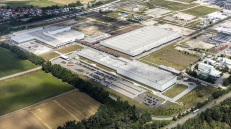 Das Audi-Werk in Münchsmünster. Dort arbeiten inzwischen 800 Menschen.