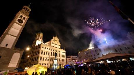 La Strada, Abendprogramm und Feuerwerk