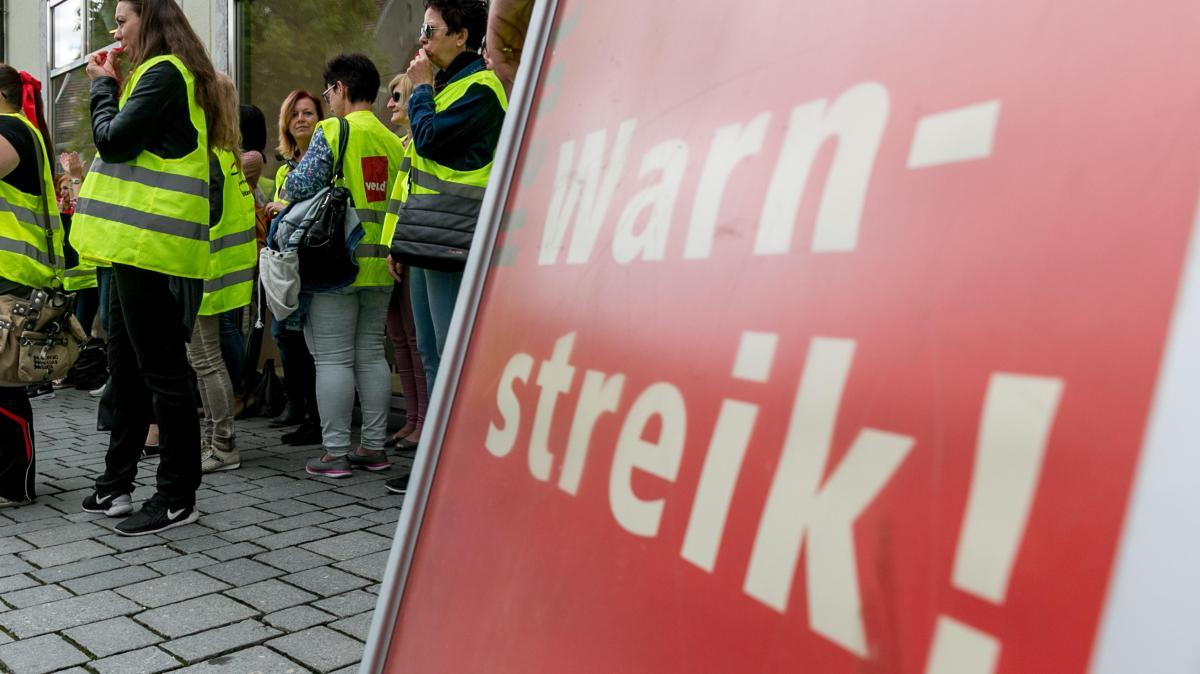 streik verdi warnstreiks bei der deutschen telekom nachrichten bayern augsburger allgemeine. Black Bedroom Furniture Sets. Home Design Ideas