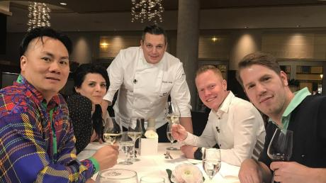 """In der Show """"Mein Lokal, dein Lokal"""" treten die Köche und Gastronomen (von links) Jaey Ho, Maddalena Mastria, Simon Lang, Daniel Schmid und Sebastian Hrabak gegeneinander an."""