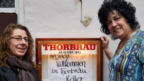Doris Gabriel (links) und Christina Ihlo-Gündisch übernehmen den Thorbräukeller.