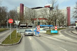 Ärger am Klinikum: Was die Parküberwacher sagen