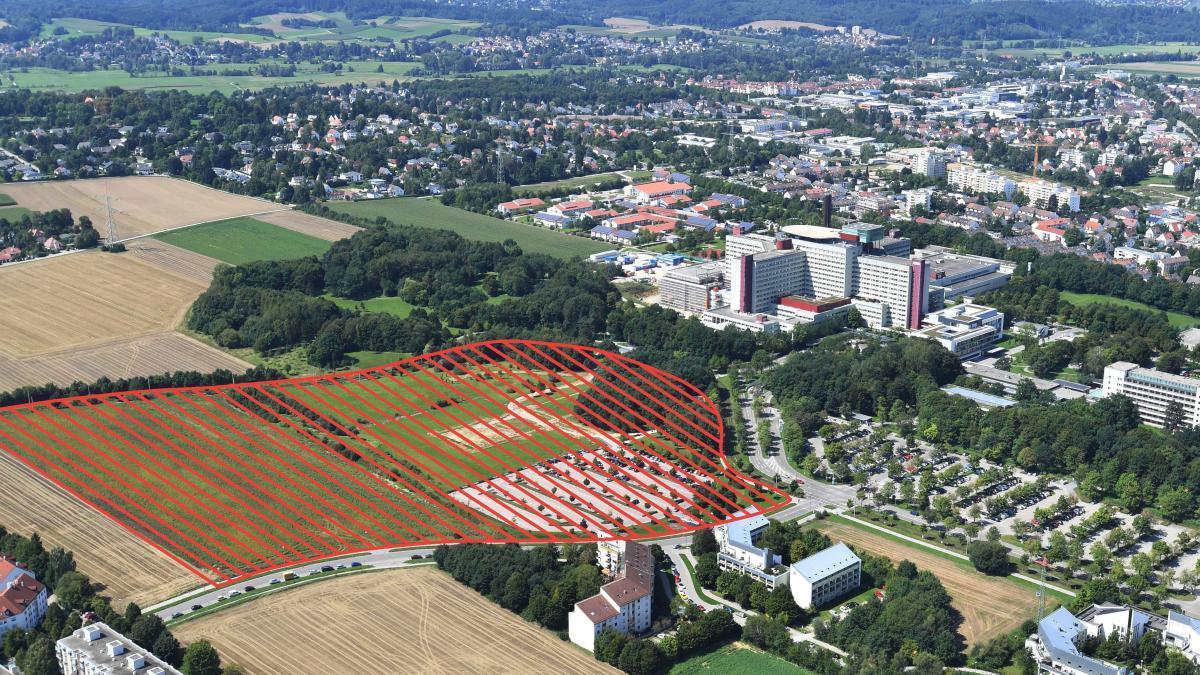 augsburg hier entsteht ab 2020 der medizin campus. Black Bedroom Furniture Sets. Home Design Ideas