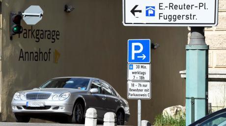 Ignaz Walter will unter der Fuggerstraße ein Parkhaus bauen.