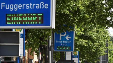Über ein neues Parkhaus in der Augsburger Innenstadt wird derzeit diskutiert.