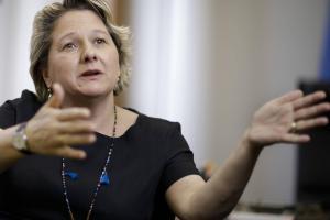 """Umweltministerin Schulze: """"Wir haben viel zu wenig für Klimaschutz getan"""""""