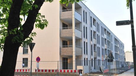Unter anderem in der Offinger Straße hat die Wohnungsbaugruppe Augsburg 2018 neuen Wohnraum geschaffen. Laut Regierungskoalition soll sie jährlich 100 Wohnungen bauen.