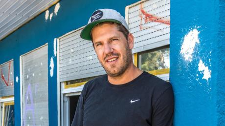 Sebstian Hrabak will dem beliebten Kiosk am Hochablass wieder Leben einhauchen.